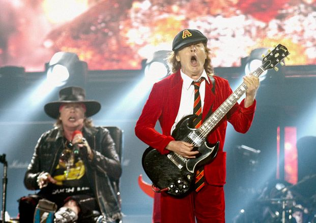 Watch Axl Rose Perform with AC/DC in Seville, Spain