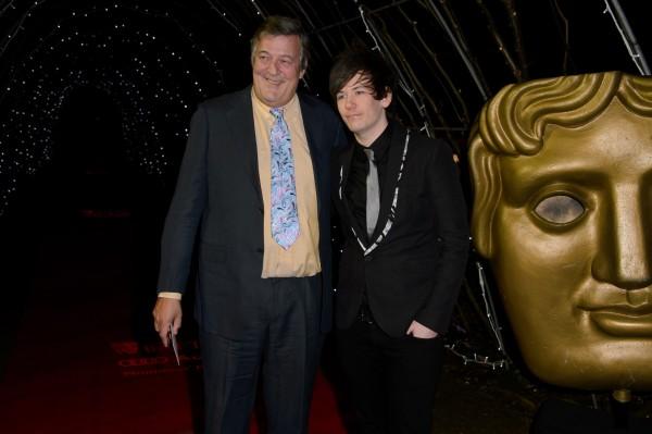 Stephen Fry with husband Elliot Spencer