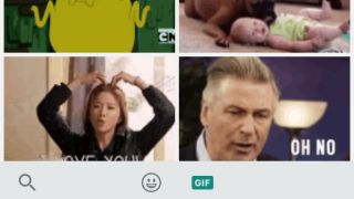 how to send gifs on whatsap
