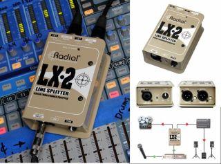 Radial Ships LX-2 Passive Line Splitter, Attenuator