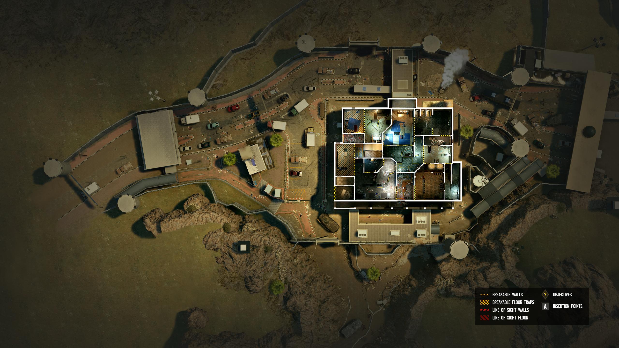 Rainbow Six Siege border map rework