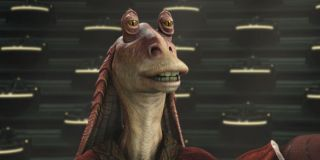 Jar Jar Binks in Star Wars: The Phantom Menace