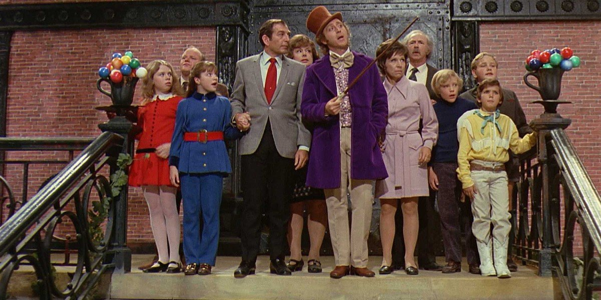 The Cast of Willy Wonka and the Chocolate Factory