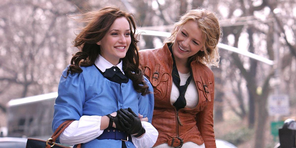 Blair and Serena in Gossip Girl.