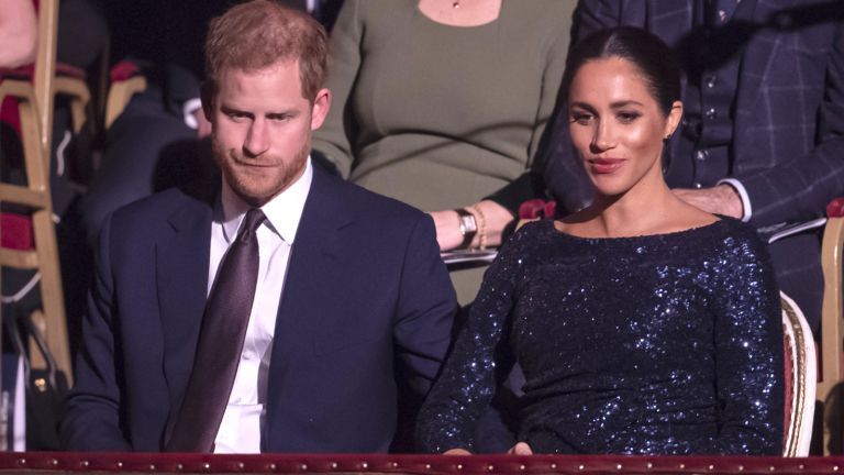 Prince Harry and Meghan Markle at the Royal Albert Hall in London
