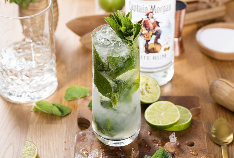 The Bottle Club Captain Morgan Mojito recipe