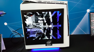 iBuypower's transparent LCD side panel looks awesome | PC Gamer
