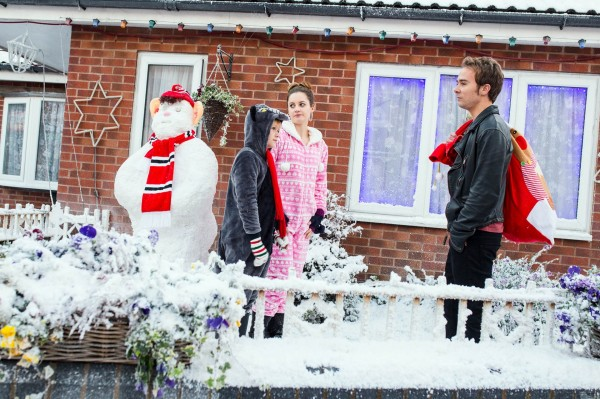 Coronation Street at Christmas