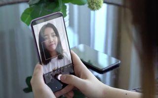 El Oppo con cámara oculta bajo la pantalla