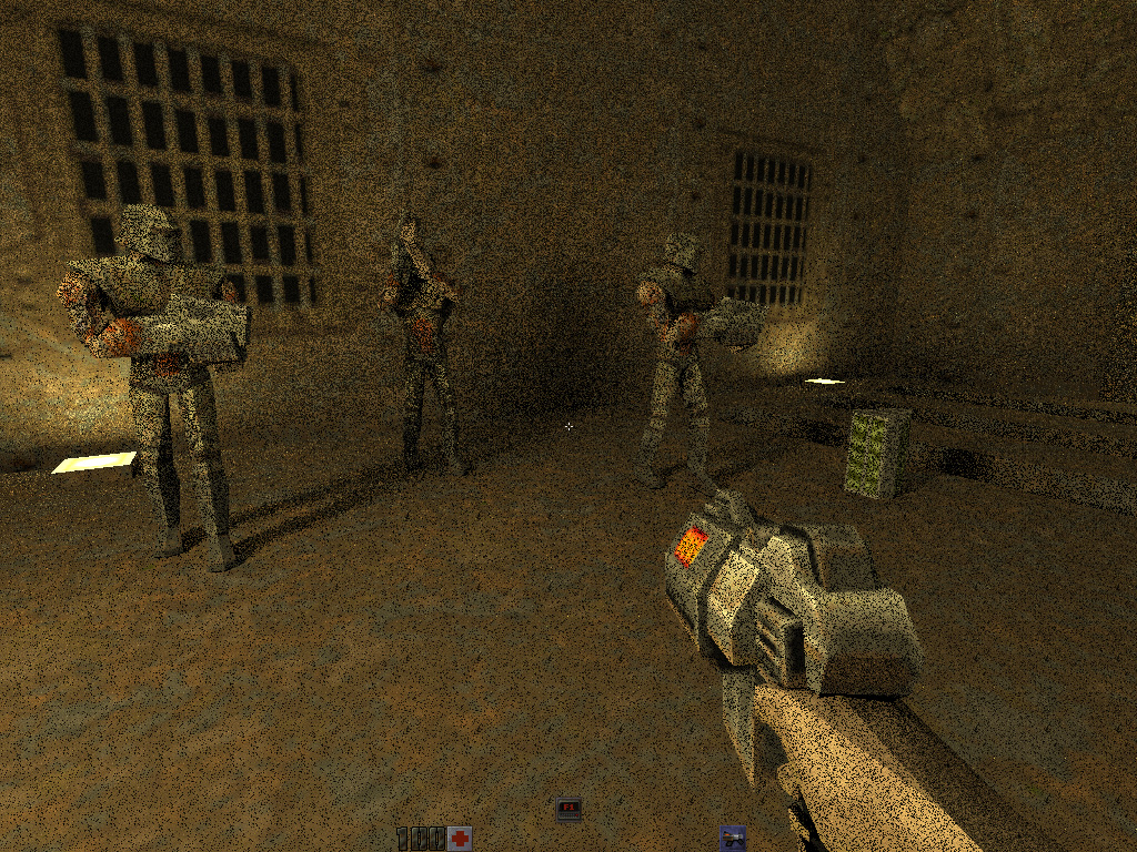 Check out Quake 2 played on a Titan Xp with real-time GPU
