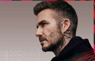 David Beckham as a FIFA 21 legend.