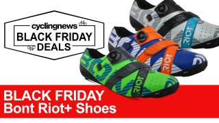 Black Friday Bont Riot+ Road Shoes Deal