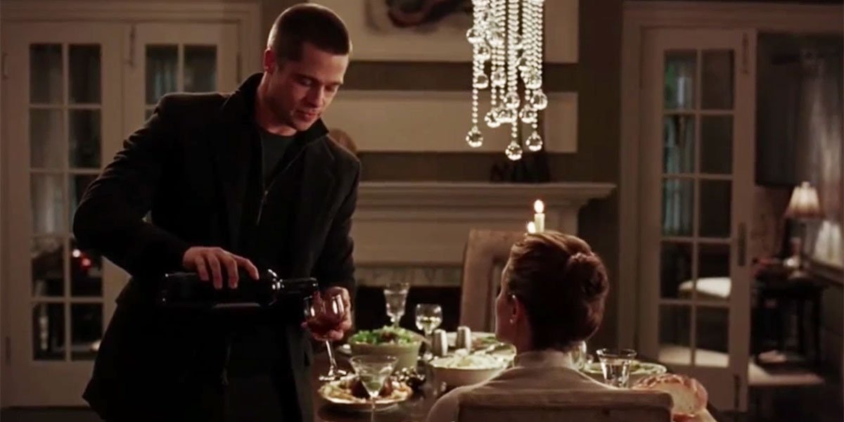 Brad Pitt and Angelina Jolie in Mr. And Mrs. Smith 2005