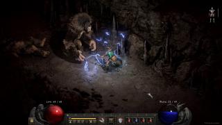 A big furry monster in Diablo 2: Resurrected.