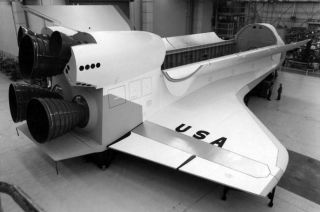 Original Space Shuttle Mockup