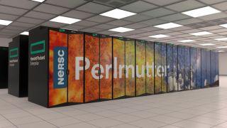 Nvidia Perlmutter supercomputer