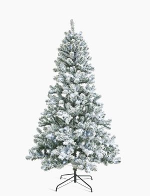 best artificial Christmas trees: marks and spencer bright snowy tree