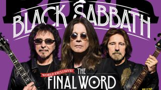 Black Sabbath on the cover of the new issue of Classic Rock