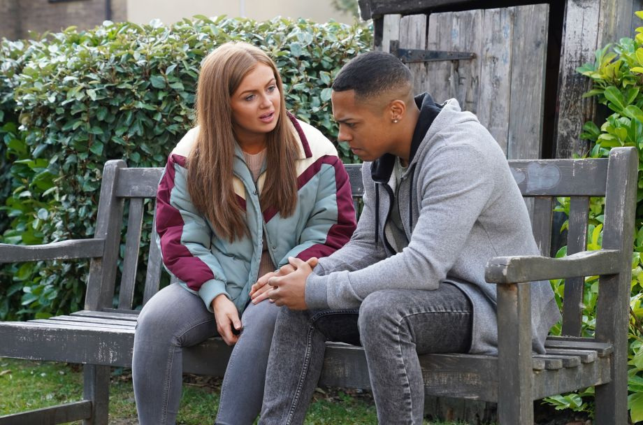 EastEnders Tiffany Butcher suggests she and Keegan Baker elope