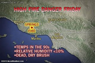 weather, fire dangers, California wildfires