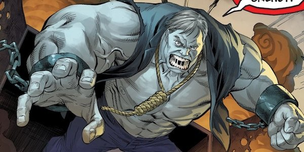 Solomon Grundy in the Injustice comics