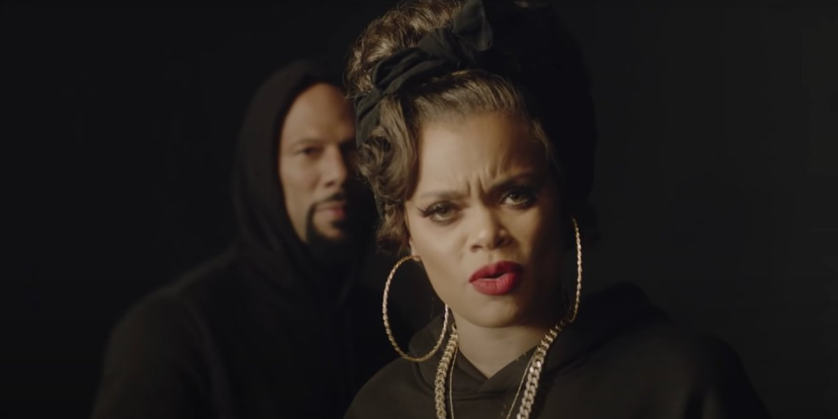 """Common and Andra Day in the """"Stand For Something"""" music video"""