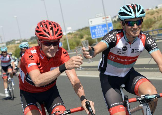 Horner and Busche, Vuelta a Espana 2013, stage 21