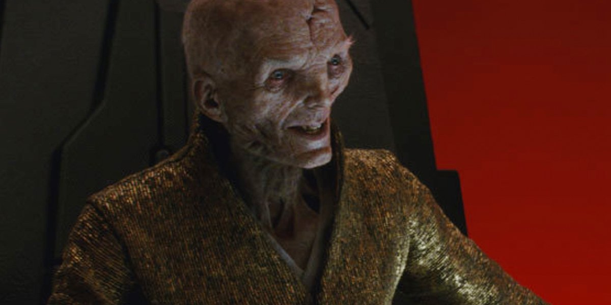 Supreme Leader Snoke The Last Jedi