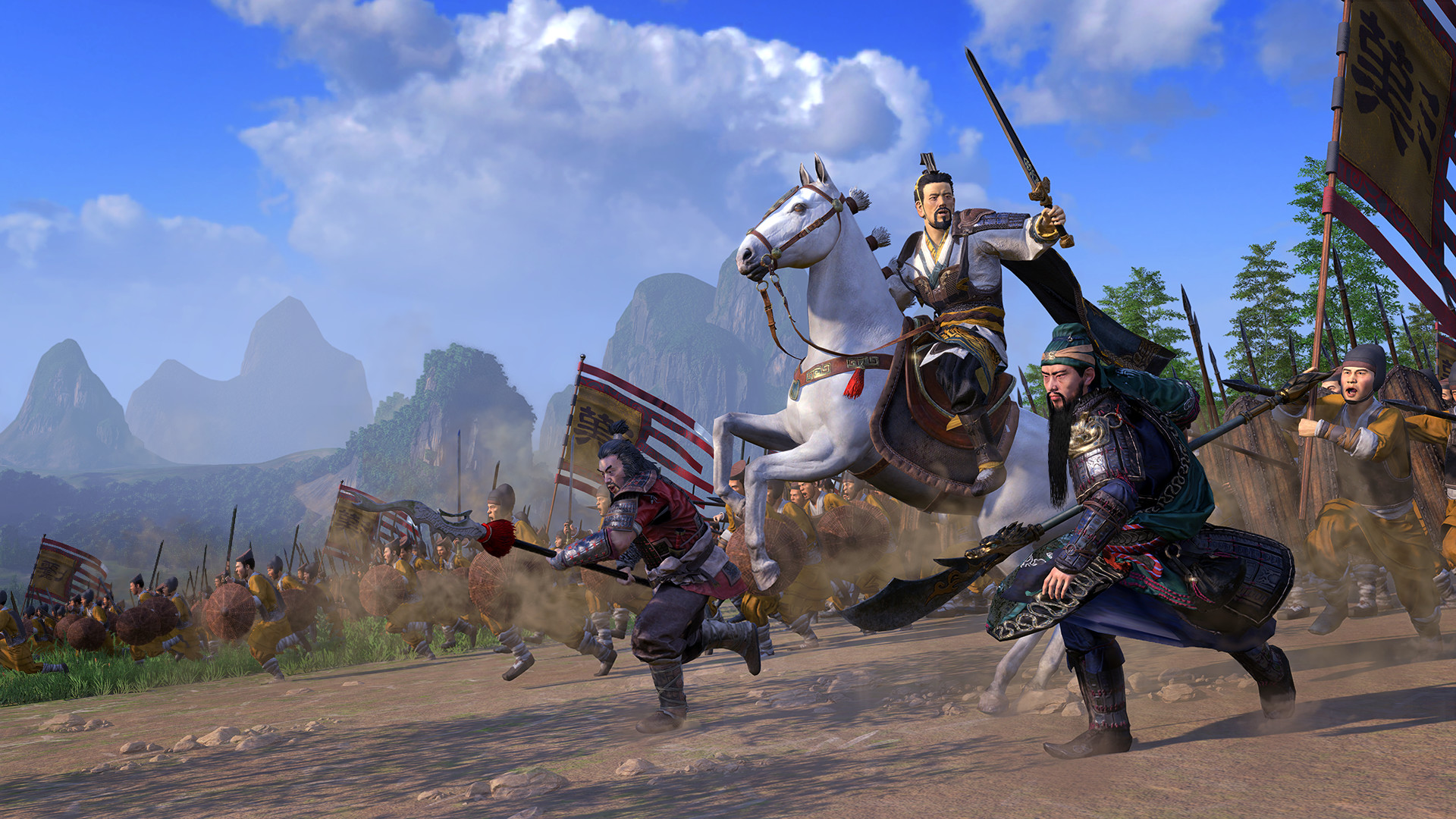 Total War: Three Kingdoms next patch focuses on families and courts | PC Gamer