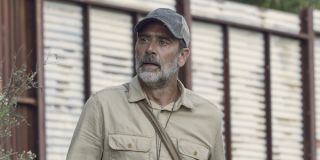negan escaping cell on the walking dead