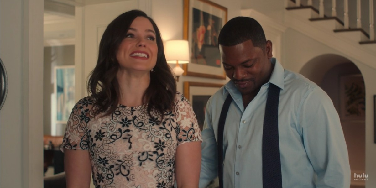 Sophia Bush and Mekhi Phifer in Love, Victor