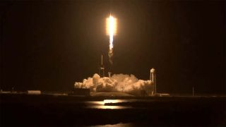 Insipration4 Launching Off From Kennedy Space Center In Florida On September 15