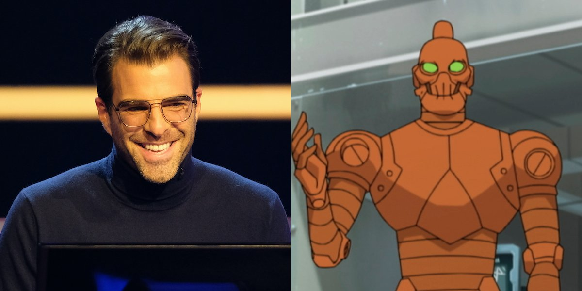 zachary quinto on who wants to be a millionaire, robot on invincible