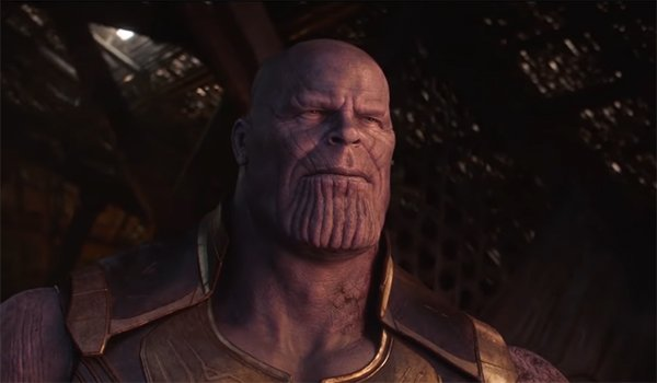 Thanos relaxing after the snap