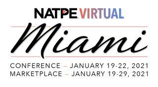 NATPE Miami 2021 logo.