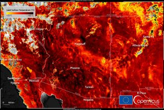 The floor is lava; June 2021 was the hottest June in North American history.