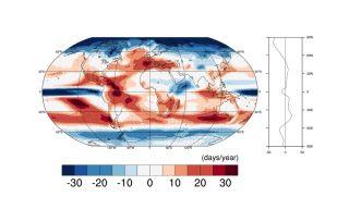 global precipitation changes