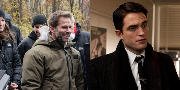 Zack Snyder and Robert Pattinson