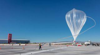 World View Stratospheric Balloon test