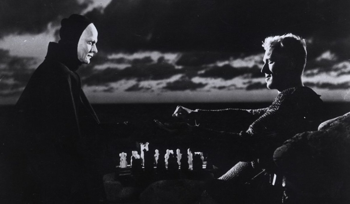 The Seventh Seal Death plays chess with Max von Sydow