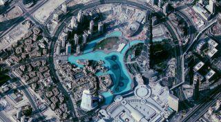 Earh-i image of Dubai