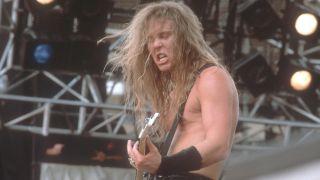 Metallica at Monsters Of Rock 1988