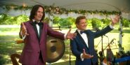 Bill And Ted's Keanu Reeves And Alex Winter Had An Excellent Message For San Dimas Graduates