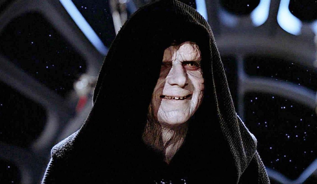 Emperor Palpatine in Star Wars: Return of the Jedi