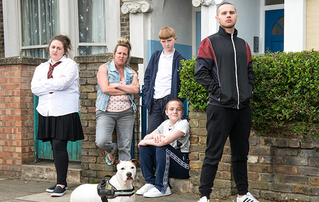 Taylor family eastenders