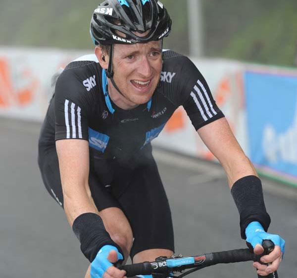 Bradley Wiggins, Giro d'Italia 2010, stage 8