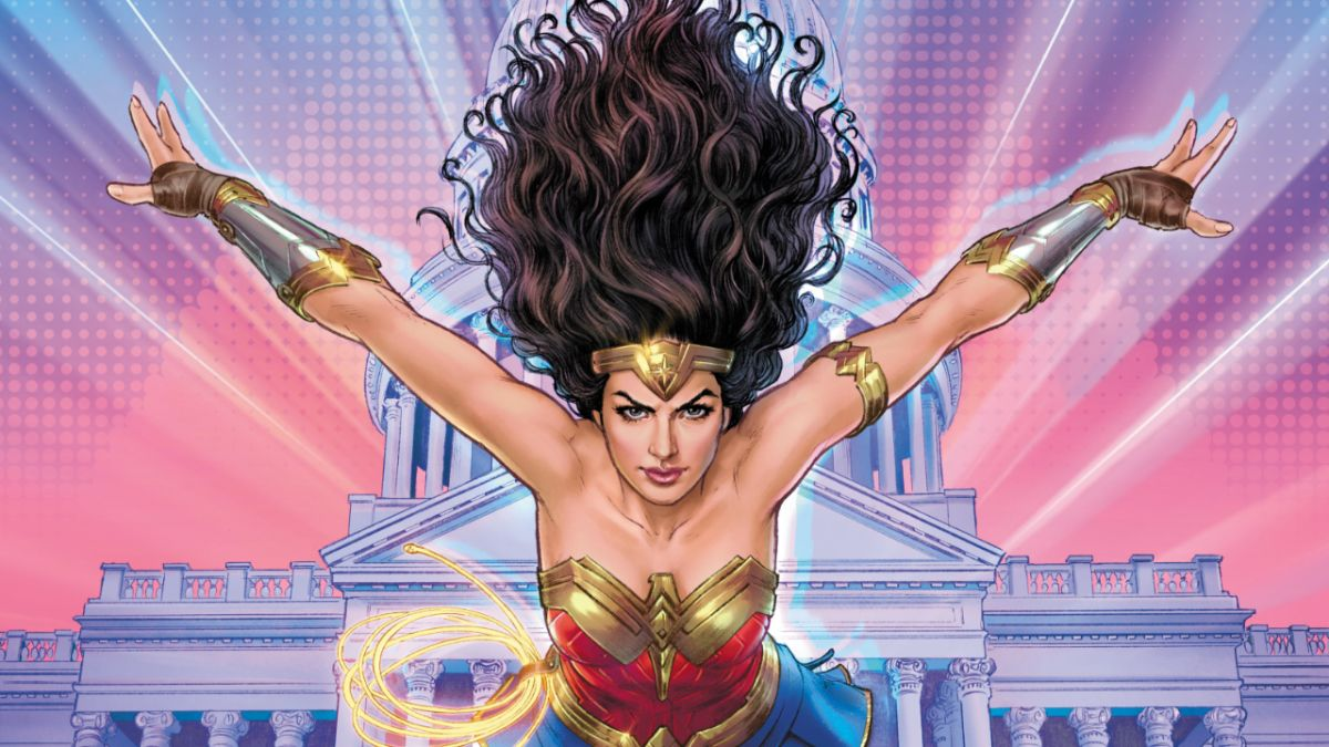 Wonder Woman 1984 comic book companion on sale in September