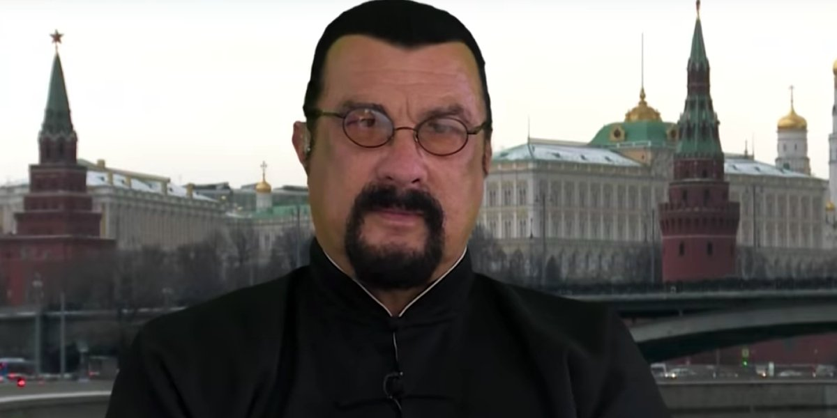 Steven Seagal in Moscow