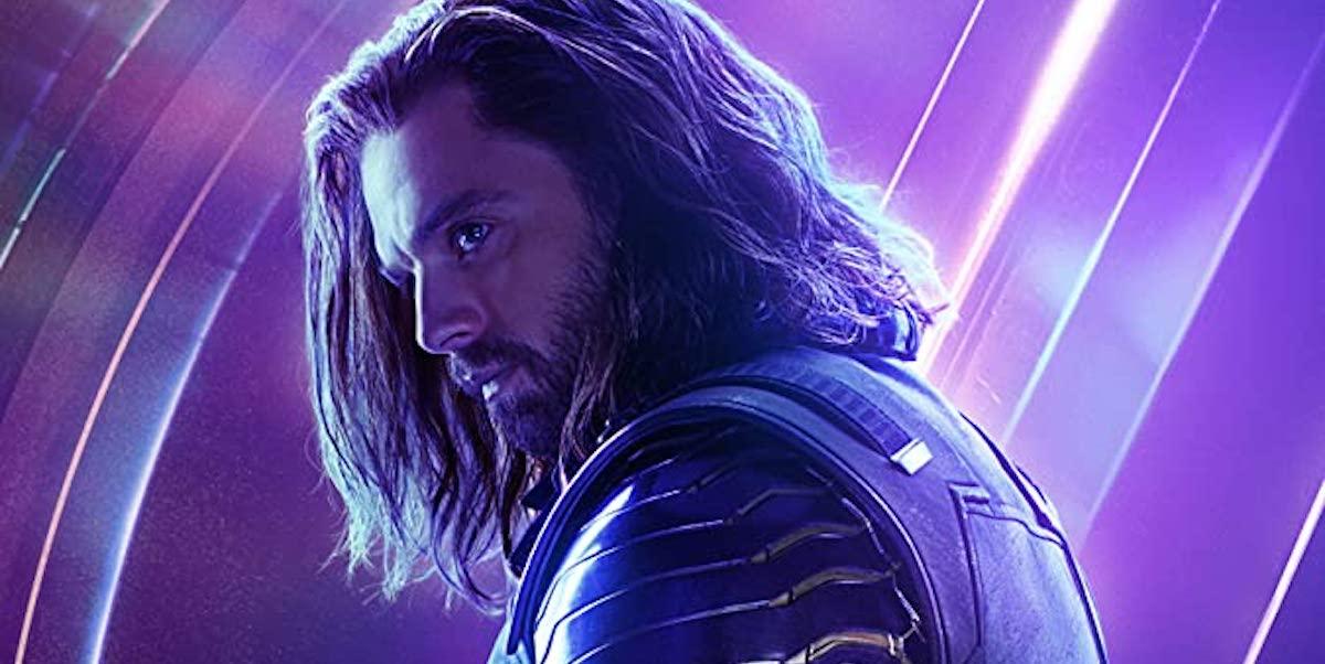 Sebastian Stan in Avengers: Endgame poster