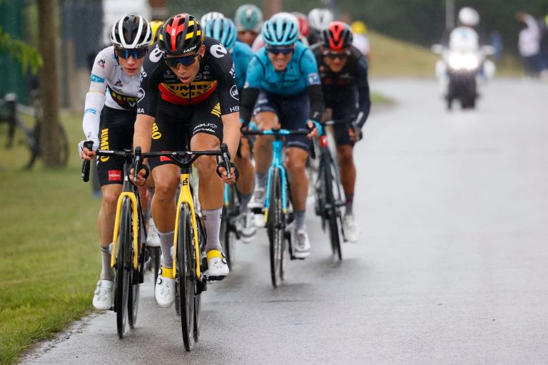 Wout van Aert on stage 16 of the 2021 Tour de France